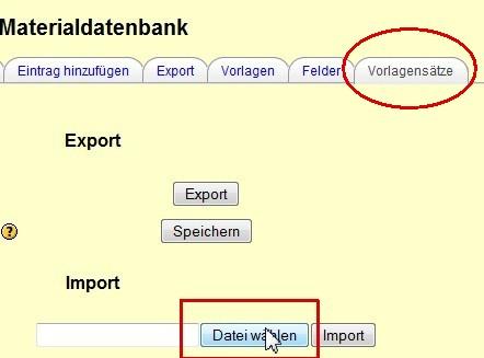 moodle | Datenbankmodul